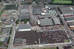 Beverwijk Veiling terrein Zwarte markt  parkeer terrein randweg industrieweg parallelweg 1988 lfh 88070912