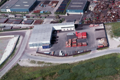 Beverwijk Industrie terrein Basisweg Zuiderkade Olieweg Nilo Koster1988 lfh 88070935