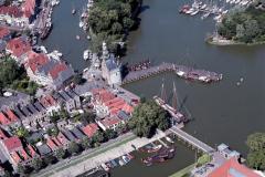 Hoorn Hoofttoren Hooft Binnenhaven 1988 lfh 88071118