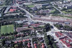 Hoorn Keern Station verkeersplein 1988 lfh 88071137