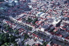 Alkmaar Centrum Oudegracht 1988 lfh 88071219