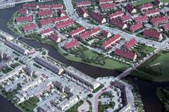 Alkmaar Noord-West wijk het Rak 1988 lfh 88071227