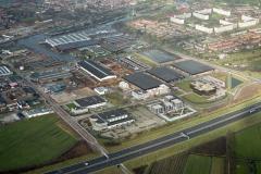 Vianen industrie terrein overzicht Langedreef Tuynmanweg Binderijgroep 1989 lfh 89021617