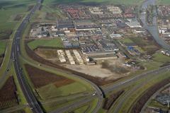 Vianen industrie terrein overzicht Langedreef Tuynmanweg  1989 lfh 89021633