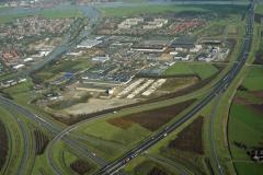 Vianen industrie terrein overzicht Langedreef Tuynmanweg  1989 lfh 89021635