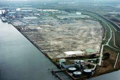 Amsterdam Havens westhaven Nissan terrein 1989 lfh 89030403