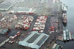 Amsterdam Havens Westhaven CTA Nissan Koopman terrein 1989 lfh 89030411