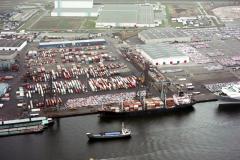 Amsterdam Havens Westhaven CTA Nissan Koopman terrein 1989 lfh 89030413