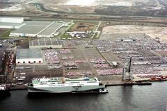 Amsterdam Havens Westhaven Nissan Koopman terrein 1989 lfh 89030415
