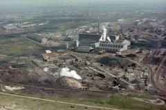 Velsen Wijk aan Zee Hoogovens Heckett terrein Oxystaalfabriek 2 1989 lfh 89042702