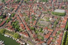 Enkhuizen Oudehaven Zuiderkerk Sint Jans straat 1989 lfh 89051740