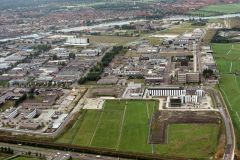 Haarlem Waarderpolder overzicht 1989 lfh 89082506
