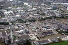 Haarlem Waarderpolder overzicht richting centrum Haarlem 1989 lfh 89082512