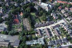 Driehuis gem.Velsen Engelmunduskerk Driehuizerkerkweg Anna Kaulbachhof 1989 lfh 89082519