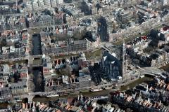 Amsterdam ,Centrum,Westerkerk,Anne Frank huis Raadhuis straat omgeving 1990 lfh 90031431