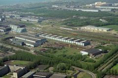 IJmuiden Velsen Hoogovens Centrale werkplaats Walserijen Noord terrein CA 12 lijn 1990 lfh 90050204