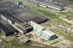 Velsen-Noord Hoogovens   CA 12 lijn  Koudwalserijen 1990 lfh90050205