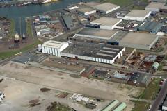 IJmuiden Haven gebied Genius scheepshelling van Laar 1990 lfh 90050239