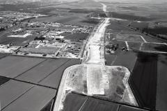 Beverwijk industrieterr oost aanleg A-9 Wijkertunnel 1990 lfh 9005160207-001