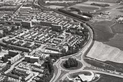 Alkmaar  zuid Kooimeer rotonde A9 Boekelermeer 1990 lfh 9005220516-019