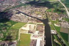 Beverwijk Haven de Pijp industrie terrein Beverwijk-Oost 1990 lfh 90052216