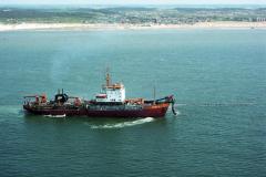 Bergen aan Zee Alpha B zandsuppletie voor de kust 1990 lfh 90052302