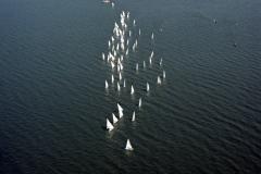 Medemblik zeilwedstrijd IJsselmeer 1990 lfh 90052329