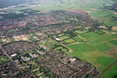 Heemskerk Oosterwijk Zuidbroek Beijerlust Poelenburg de Maer overzicht van oost ri noord west 1990 lfh 90062046