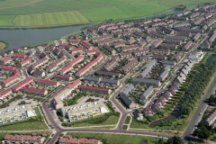 Heemskerk Breedweer woonwijk 1990 lfh 90072629