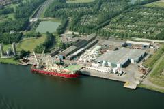 Velsen-Noord Orcabase met Stena Seawell 1990 lfh 90072660