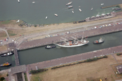 IJmuiden sluizen Sail 1990 lfh 90080925