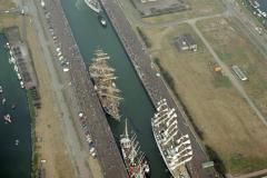 IJmuiden sluizen Sail 1990 lfh 90080936
