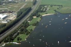 Uitgeest ,Uigeestermeer ,Dorregeest ,recreatie strand ,1990 lfh 90082608