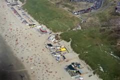 Wijk aan Zee, Strand, opgang Zwaanstraat Instuif,WRB,Schoos,1990 lfh 90082625