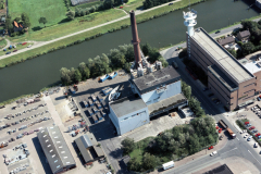 Alkmaar,Huisvuilcentrale AVI,Vuilverbranding,HVC,Koelmalaan,Noordhollands kanaal,1990 lfh 90090418