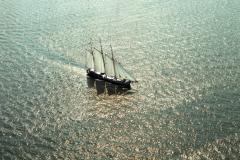 IJsselmeer Botter ,Bruinevloot ,zeilvaart ,recreatie ,1990 lfh 90090448
