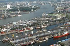 Rotterdam ,Waalhaven,havens, industrie,overslag, transport,scheepvaart,1990 lfh 90091136