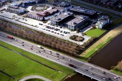 Leiderdorp Winkelcentrum Woon Leiderdorp kantoren Persant Snoepweg A4 1991 lfh 91032237