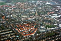 Beverwijk Centrum Aagthendorp Wijkeroren PA driehoek 1991 lfh 91032513