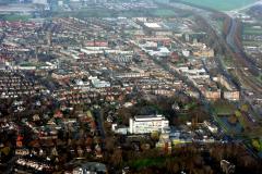 Beverwijk Centrum  Rode kruis ziekenhuis Breestraat Station Beverhof eo 1991 lfh 91032517