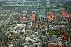 Heemskerk centrum Nielen plein Raadhuis Hervormde kerk Laurentiuskerk 1991 lfh 91032736
