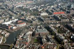 Amsterdam Stopera Rembrandts plein Amstel eo 1991 lfh 91032755