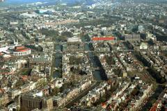 Amsterdam Stopera Rembrandts plein Amstel Weesperstraat eo 1991 lfh 91032756