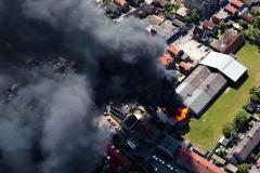 Uitgeest brand bedrijf Middelweg eo 1991 lfh 91060512