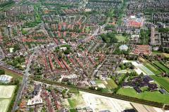 Castricum Overzicht centrum Bonhoeffer college voorgrond 1991 lfh 91060538