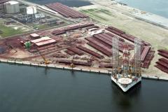 Rotterdam Europoort NCOAT met drilling rigg 1991 lfh 91062405