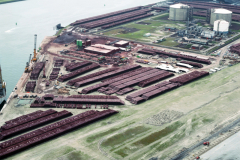 Rotterdam Europoort NCOAT met drilling rigg 1991 lfh 91062407