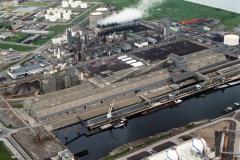 Rotterdam Europoort Petrochemie industrie terreinen bedrijven 1991 lfh 91062421
