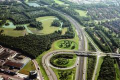 Beverwijk Tracee Velser tunnel A-9 1991 lfh 91081650