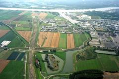 Beverwijk Industrie terrein Beverwijk-Oost aanleg tracee A-9 Wijkertunnel 1991 lfh 91082769